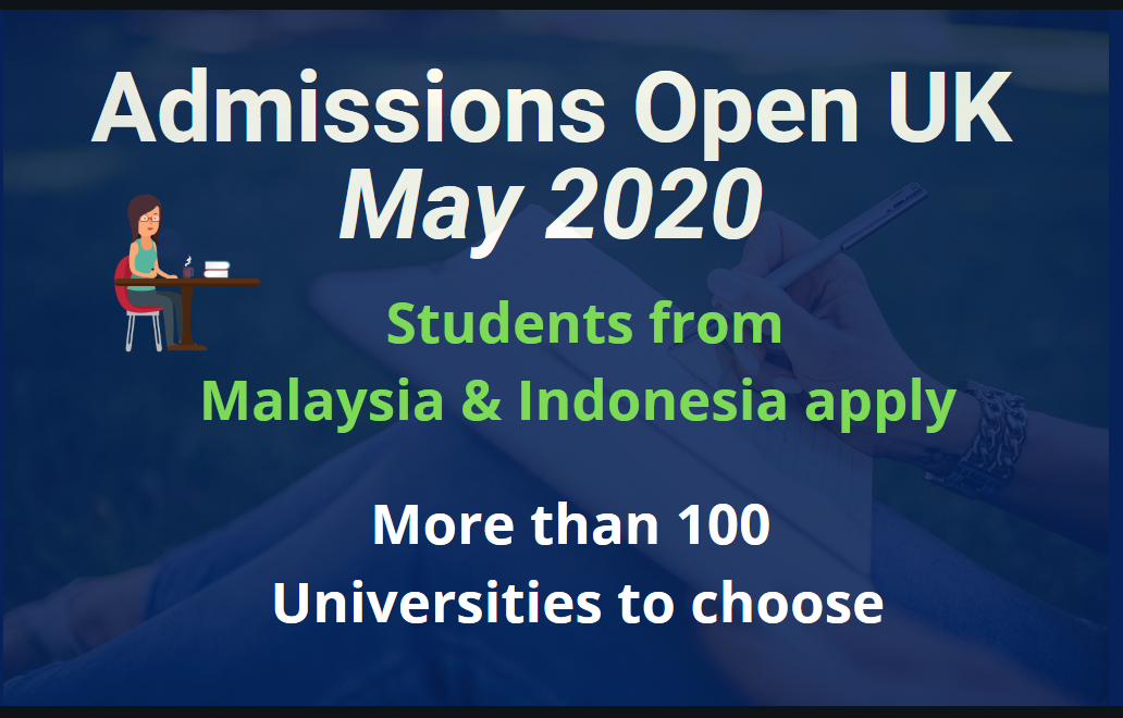 Malaysia and Indonesia Students - Apply in UK