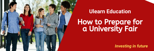 How to Prepare for a University Fair